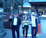 櫛引八幡宮へドライブに行きました。