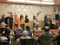 '19感謝祭③ 宮崎小学校の皆さんの音楽劇を鑑賞♪