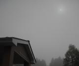 朝早く起きて、利用者のみなさんと金環日食を見ました。