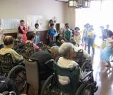 鮫川小学校放課後児童クラブの子供達がボランティアにやって来た!!