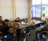 鮫川中学校の一年生34名が、ボランティアに来てくれました!
