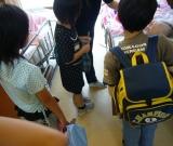 橋浦・相川小3年生が居室訪問